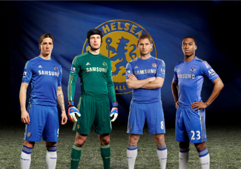 Chelsea New 2012/13 home kit