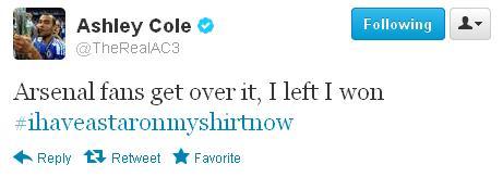 Cole tweet