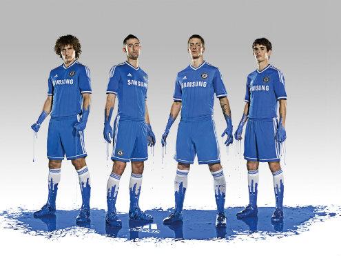 Chelsea home kit 201314
