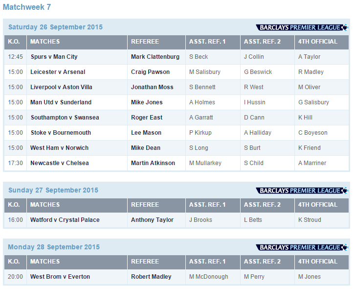 refereeing appointments