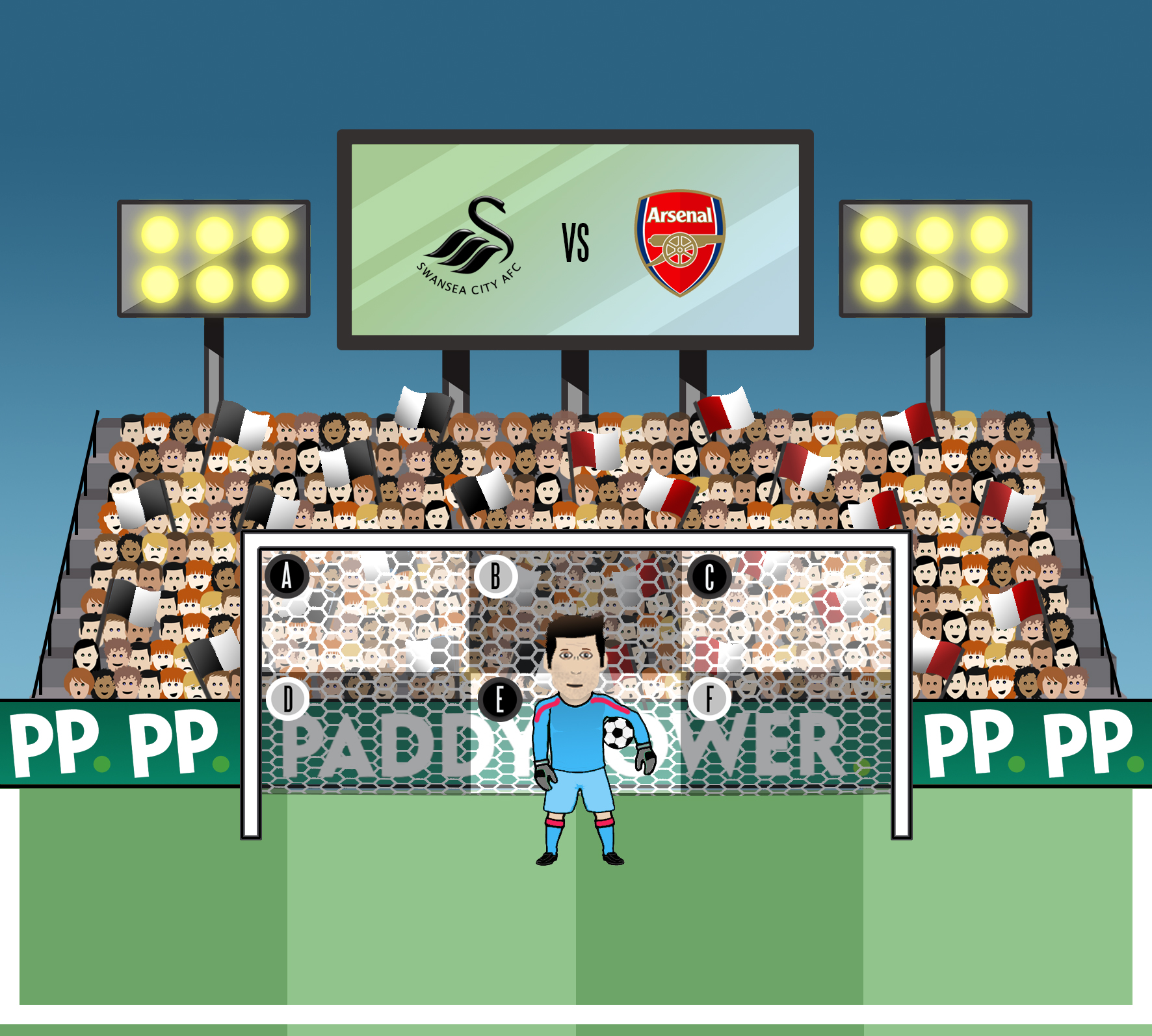 Fabianski - Swansea vs Arsenal