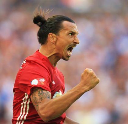 Zlatan Ibrahimovic Manchester-United