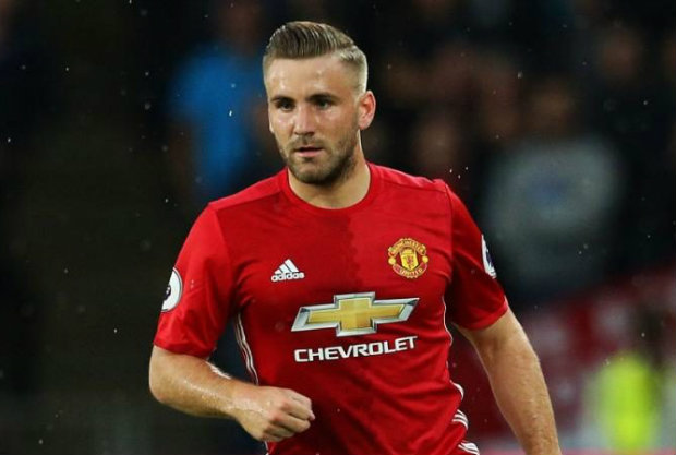 luke shaw man utd