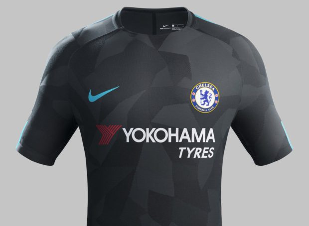 [Photos] Chelsea Unveil Stylish New Third Kit For 2017/18