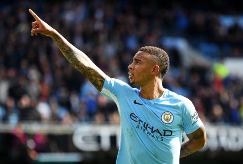 Gabriel Jesus Man City 2017
