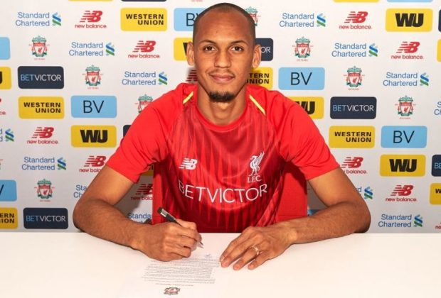 Brazil midfielder Fabinho to join Liverpool