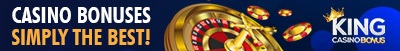 casino welcome offers from kingcasinbonus