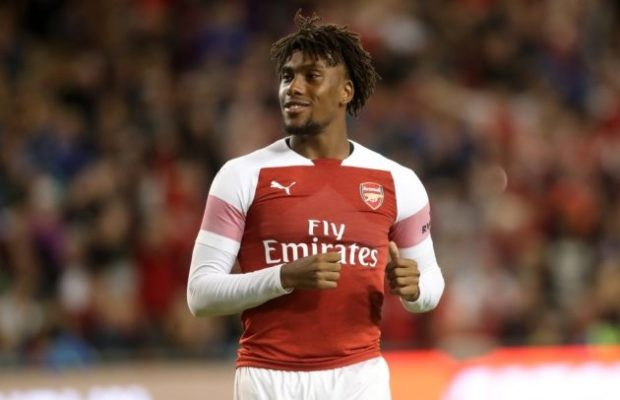 alex iwobi arsenal 2018