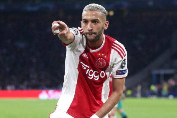 Ajax star Ziyech available for just £30m amid interest from Premier League