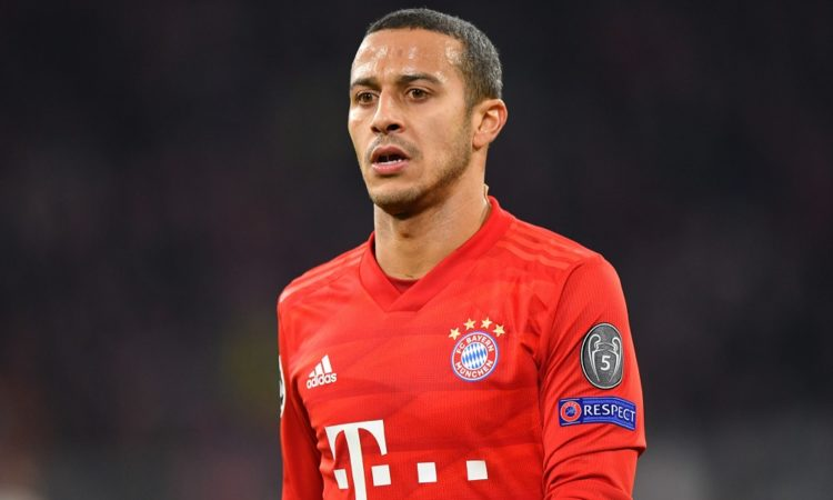 Liverpool 'very close' to deal for Bayern Munich midfielder Thiago Alcantara