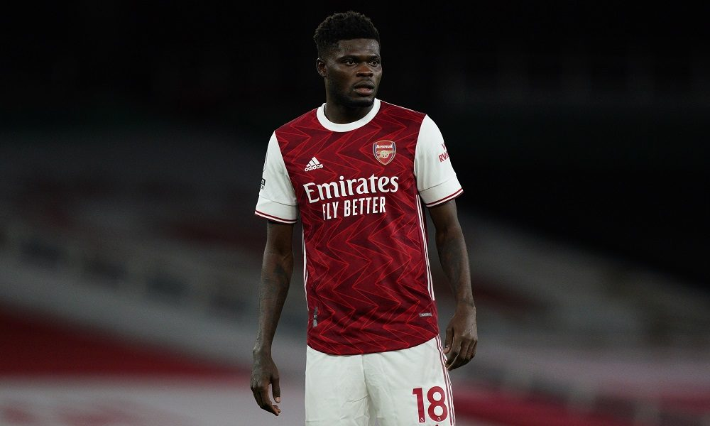 Arsenal thomas partey 2020