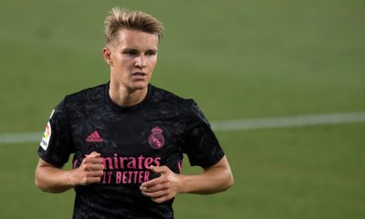 martin Odegaard real madrid