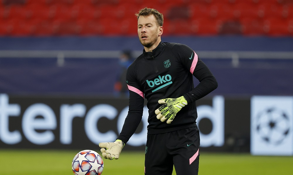 Barcelona keeper Neto could be on his way to Arsenal this month