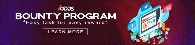 Vodds Bounty Program - Earn Rewards